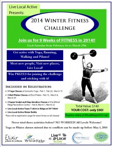 Winter Fitness Challenge 2014