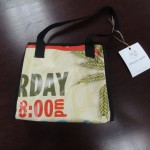 "Mini bag.  Measures 9"" x 4"" and 8 1/2"" deep.   $20.00"