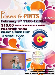 poses and pints Feb 9
