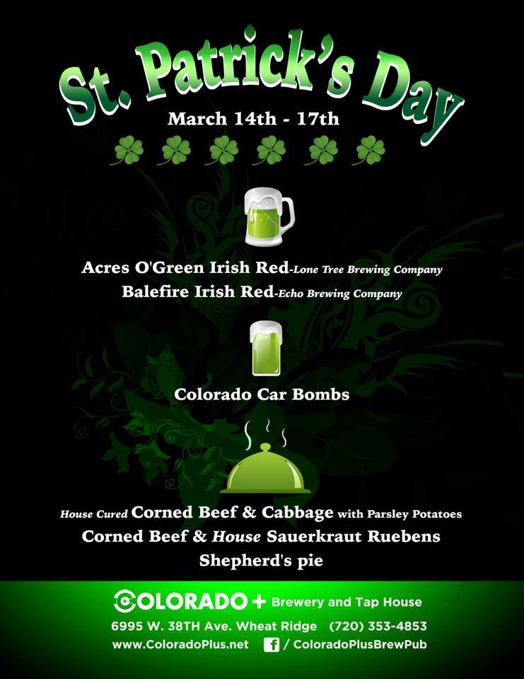 St. Patrick's day-co+