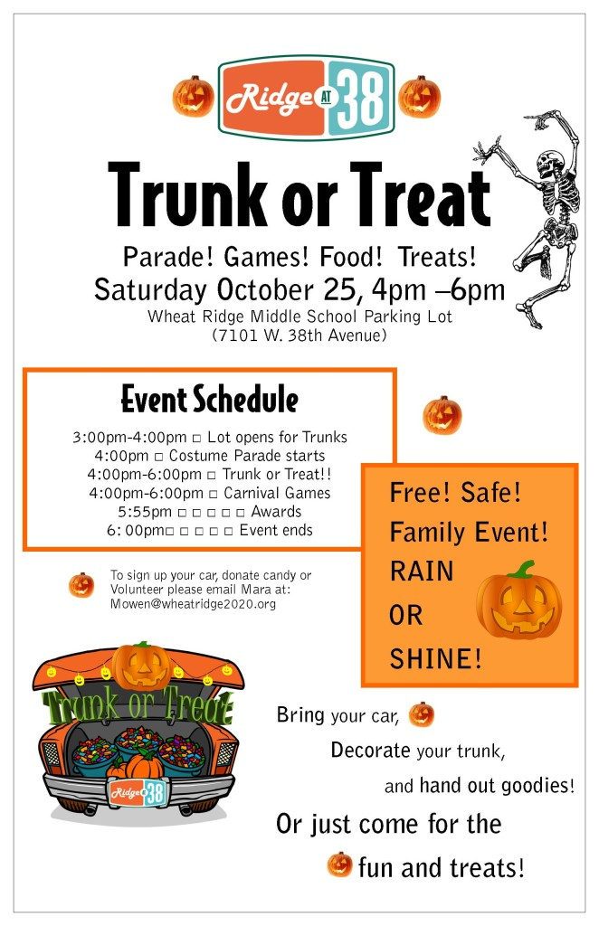 Trunk or Treat Poster- 11x17