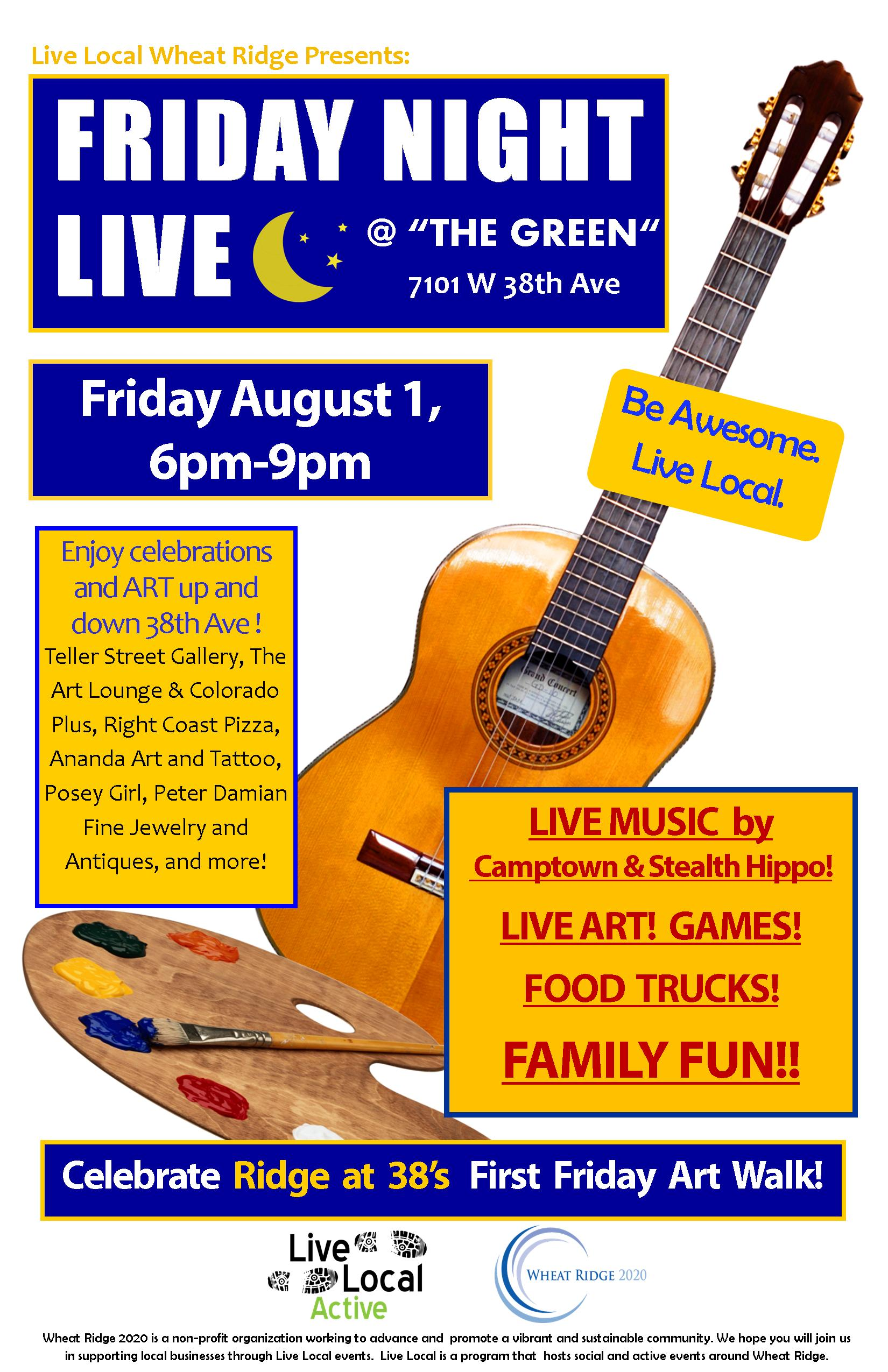 Friday Night Live 8-1-14